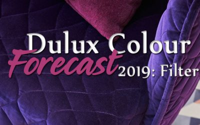 Dulux Colour Forecast 2019: Filter