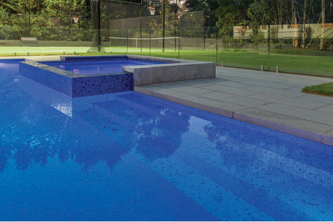Exotic Pools Ultracourts pool builder tennis court spa