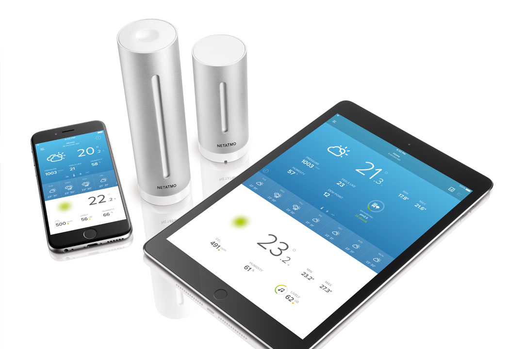 Netatmo Smart Home Weather Station weather measure rain gauge JB Hi-Fi