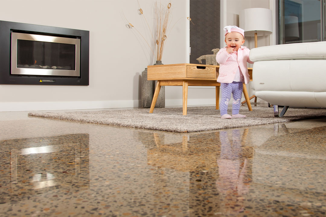 Ultra Grind baby stone flooring Melbourne new showroom 4/163 Chesterville Road, Moorabbin