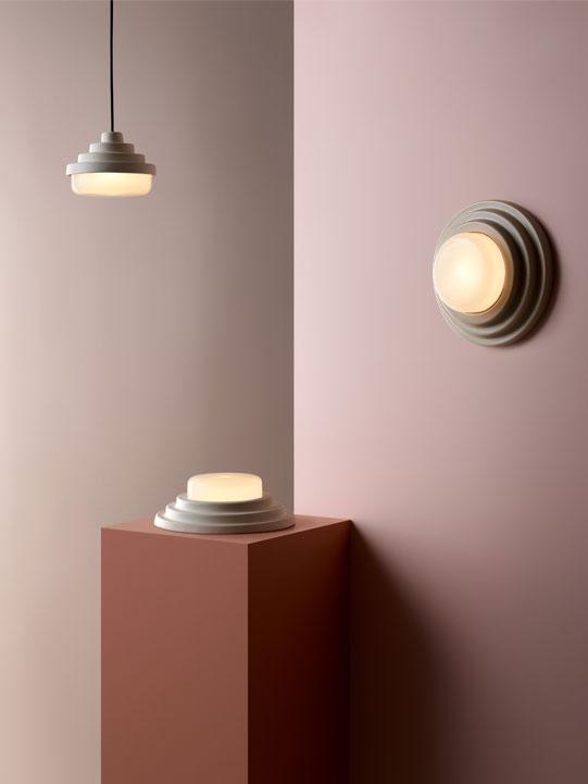 Honey Coco Flip Charles Sandford Amanda Dziedzic Bendigo Pottery Art Deco Lighting